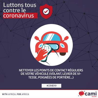 Le COVID-19 : comment bien nettoyer votre véhicule ?